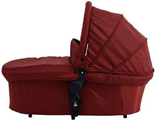 Baby Monsters Premium - Capazo para silla de paseo, color burdeos