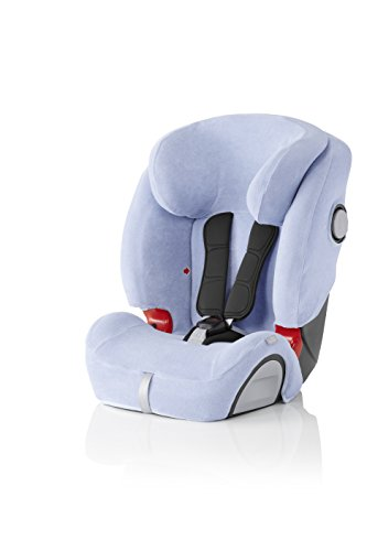 Britax Römer Funda de verano para silla de coche EVOLVA 1-2-3 SL SICT, Blue
